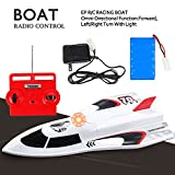 Large Powerful Super High Speed Remote Control Fast RC Racing Boat - 14+ Age Extra Battery Included