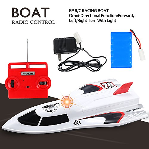 Large Powerful Super High Speed Remote Control Fast RC Racing Boat – 14+ Age Extra Battery Included