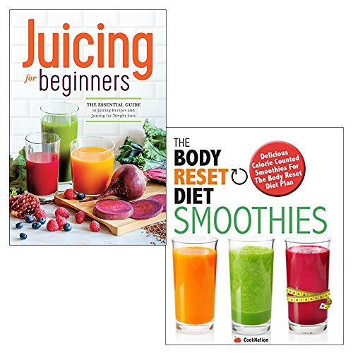 Price comparison product image Juicing for beginners and body reset diet smoothies 2 books collection set