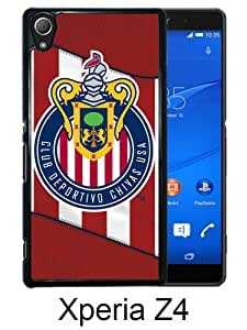 Beautiful And Unique Designed Case For Sony Xperia Z4 With Chivas USA 06 black Phone Case
