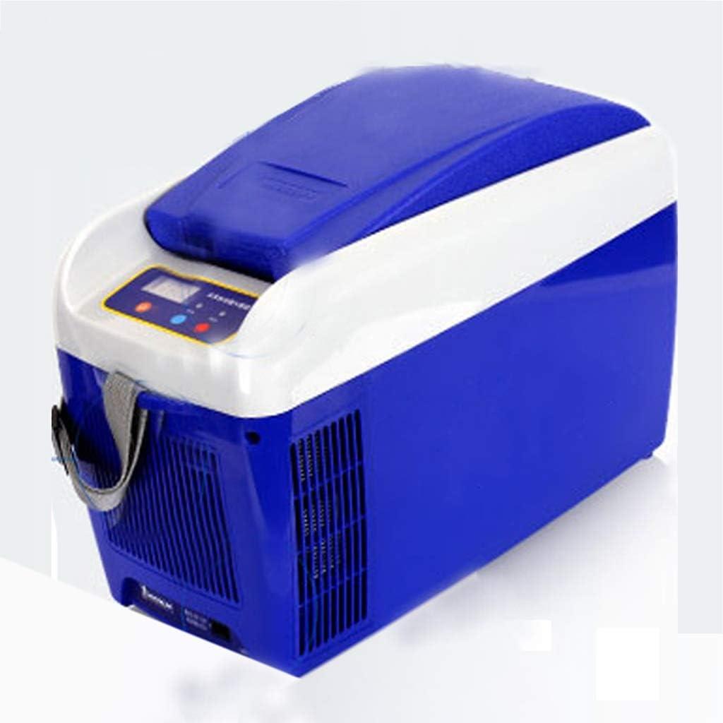 車の冷蔵庫 - デジタル温度計大型トラック車屋外冷凍暖房8 L小型12 V / 24 Vポータブル小型冷蔵庫