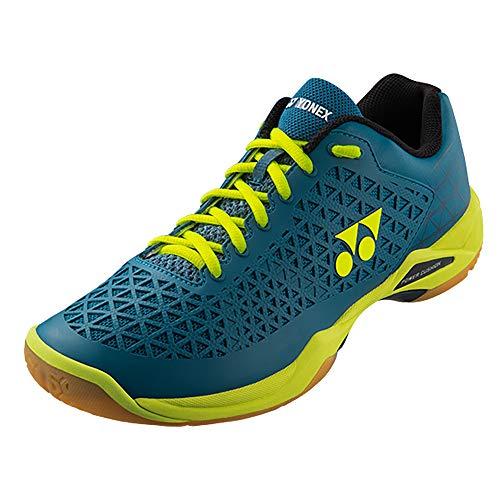 Yonex Eclipsion X Badminton Shoe, TQ/Y (5.5) Turquoise/Yellow