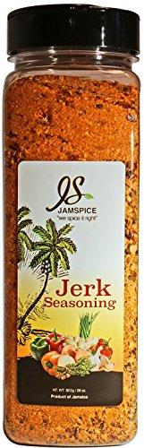 Jamspice Jerk Seasoning, Simply Jamaican, Restaurant Size, 29 oz