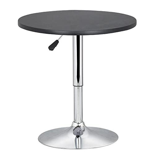 Round Adjustable Height Table From Coffee To Dining: Adjustable Height Dining Coffee Table: Amazon.co.uk