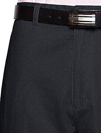 Traditional Fit Slacks Chino Straight-Legs Casual Pants AKA Mens Wrinkle Free Cotton Twill