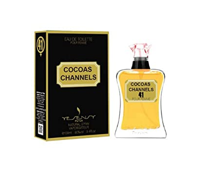 Cocoas Channels, equivalencia de perfume para mujer EDT 100 ml