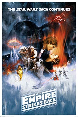 "Pyramid International ""one Sheet Star Wars The Empire Strikes Back"" Maxi"