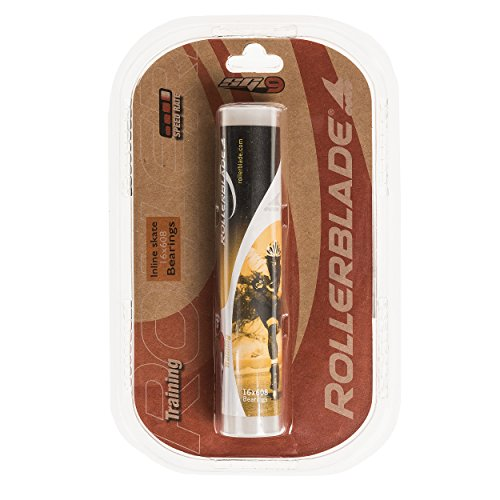 Rollerblade Inline Skate SG9 Bearings, Silver, One Size ()