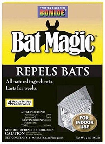 Bat Magic Repellent Drives bats out attics, wall, chimneys 4Pk Bat Repellent by OMG_Shop (Shop Chimney compare prices)