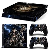 Gam3Gear Pattern Series Decals Skin Vinyl Sticker for PS4 Console & Controller – The Grim Reaper Review