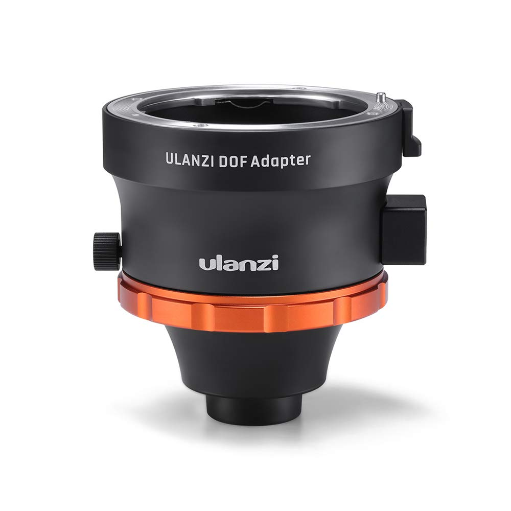 Meiyiu Ulanzi DOF Adapter E Mount Full Frame Camera Lens Adapter Smartphone SLR/DSLR & Cinema Lens Adapter for iPhone Andriod Phones Black by Meiyiu