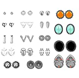 Best  - Jstyle 18Pairs Multiply Stud Earrings for Women Girls Review