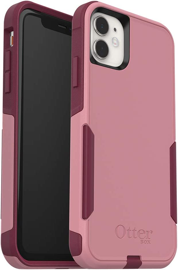 OtterBox COMMUTER SERIES Case For iPhone 11 - CUPIDS WAY (ROSEMARINE PINK/RED PLUM)