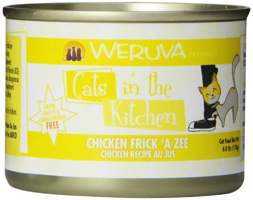 Weruva Cats in the Kitchen, Chicken Frick 'A Zee with Chicke