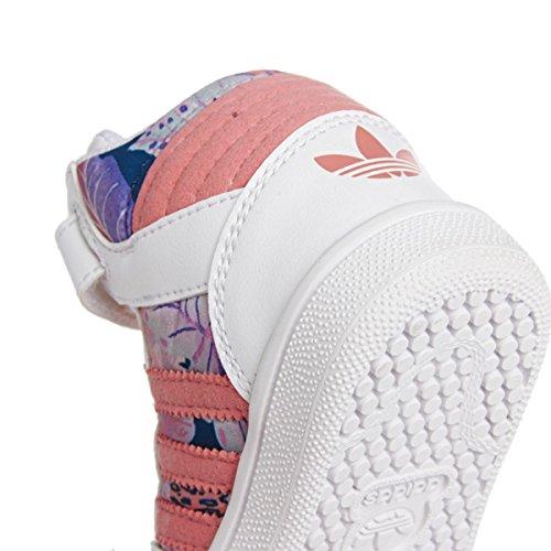 adidas Pro Play 2 CF I Scarpe Sportive Bambina Fantasia S77447 Weiß