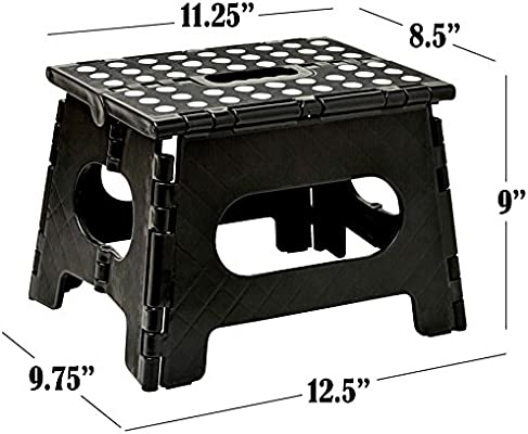 Astonishing Folding Step Stool The Lightweight Step Stool Is Sturdy Enough To Support Adults And Safe Enough For Kids Opens Easy With One Flip Great For Uwap Interior Chair Design Uwaporg