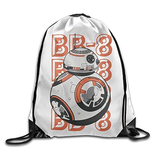 Star Wars Rod Puppet BB-8 Sport Backpack Drawstring Print Bag
