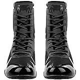 Venum Elite Boxing Shoes - Black/Black - Size 9.5