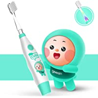 kids& Baby Toothbrush Electric Sonic Battery Powered With Smart Timer and Colorful LED, Baby &kids Electric Toothbrushes…