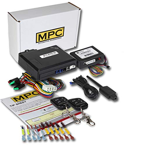 Complete Remote Start Keyless Entry Kit for 2001-2006 Acura MDX w/Bypass Module & Downloadable Tip - Remote Module Bypass Acura Start