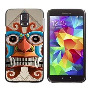 Designer Depo Hard Protection Case for Samsung Galaxy S5 / Inca Aztec God