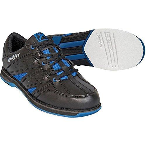 KR Strikeforce Warrior Men's Bowling Shoes, Black/Royal, 10