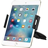 iPad Car Mount, Skiva Universal Tablet and Smartphone CD Slot Car Mount Holder Cradle for iPad Air mini, Samsung Galaxy Tab Note 10.1, Google Nexus 7, Microsoft Surface Pro 3, iPhone 6s [Model:AH109]