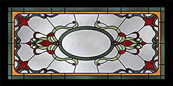 Pool Pub Stained Glass 2ft X 4ft Drop Ceiling Fluorescent Decorative Ceiling Light Cover Skylight Film Amazon Com