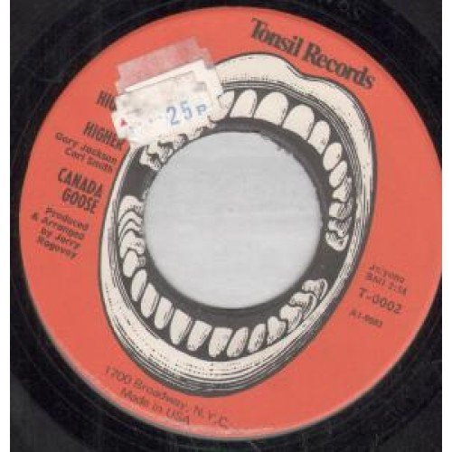 "Price comparison product image Higher Higher 7 Inch (7"" Vinyl 45) US Tonsil"