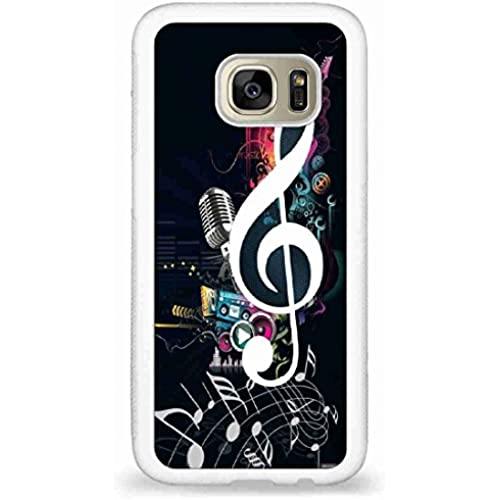 Customized Music notes back phone cases for Samsung Galaxy S7 Sales