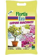 Flortis Eco Abono BIO A Base De Altramuces Molidos para Cítricos y Plantas Acidofile en envase de 4 kg