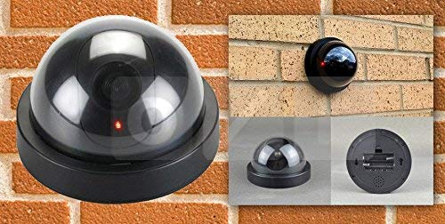 Unique Gadget Dummy Fake Infrared Sensor Dome Wireless Security Camera with Blinking Led Realistic Looking CCTV…