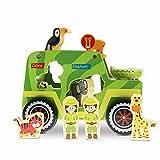USA Toyz Wooden Toys Safari Shape Sorter - Safari Truck...