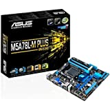 ASUS AM3+ FX 760G 6 x SATA 3Gb/s port(s) Graphics Card (M5A78L-M PLUS/USB3)