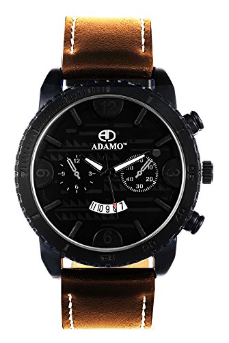 ADAMO A203BR02 Geneva Analog Watch For Men