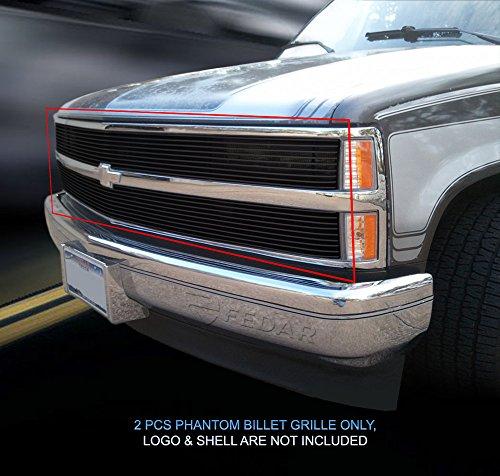 - Fedar Main Upper Phantom Replacement Billet Grille Insert for Chevy C/K/V/R Pickup Selected Models