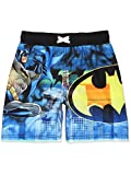 DC Comics Batman Boys Swim Trunks Swimwear (7, Blue)
