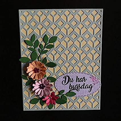 Amazon Com Cutting Dies Die Cut Dies Rectangular Frame Card Steel
