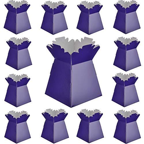 Diamante Crafts Purple Choose Quantity Living Vases Florist Bouquet Sweet Box Purple x 10