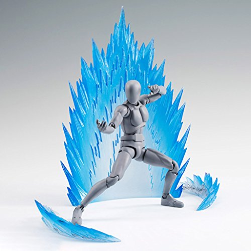 EA-STONE Reality Tamashii Effect Explosive Air Action Figure,Action Figure Display Parts, Action Effect For Model Toy (Blue)
