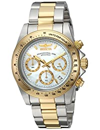 Invicta Men's Speedway Chrono 200m MOP Two Tone Stainless Steel Watch 24769
