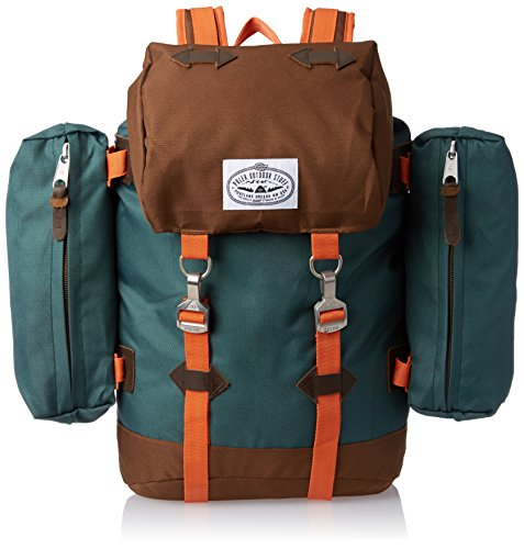 Poler Mens Rucksack Pack, Fern/Beaver, One Size / Accessory