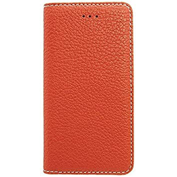 f89a9f5d34 OWLTECH iPhone 7用 Lisse 手帳型ケース PU カードポケット付 オレンジ OWL-CVIP709