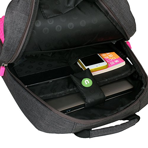 Amazon.com: Upixel Classic Backpack – DIY Pixel Art – School Laptop Bag with Multi Pockets – Green: Computers & Accessories