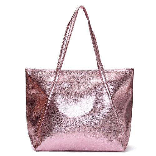 Big Stilista Delle Elegante Qualità Borsa Ourbag Signore Donne Rosa Di Bags 7TwOYxS