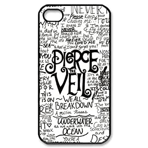 Personalized Pierce the Veil Hard Case For Apple Iphone 5/5S Case Cover -BB504