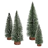 Remeehi Artificial Slim Christmas Tree Table Decorations 20cm