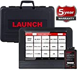 LAUNCH X431 V PRO Bi-Directional Scan Tool Full System Scanner,Key Programming,Reset Functions ABS Bleeding,TPMS,EPB,SAS,DPF,BMS,ECU Coding,Injector Coding, Full Connector Kit- Free Update
