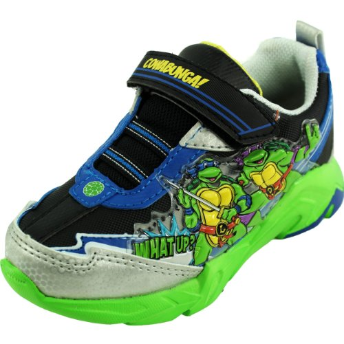 teenage mutant ninja turtles light up shoes sneakers blue. Black Bedroom Furniture Sets. Home Design Ideas