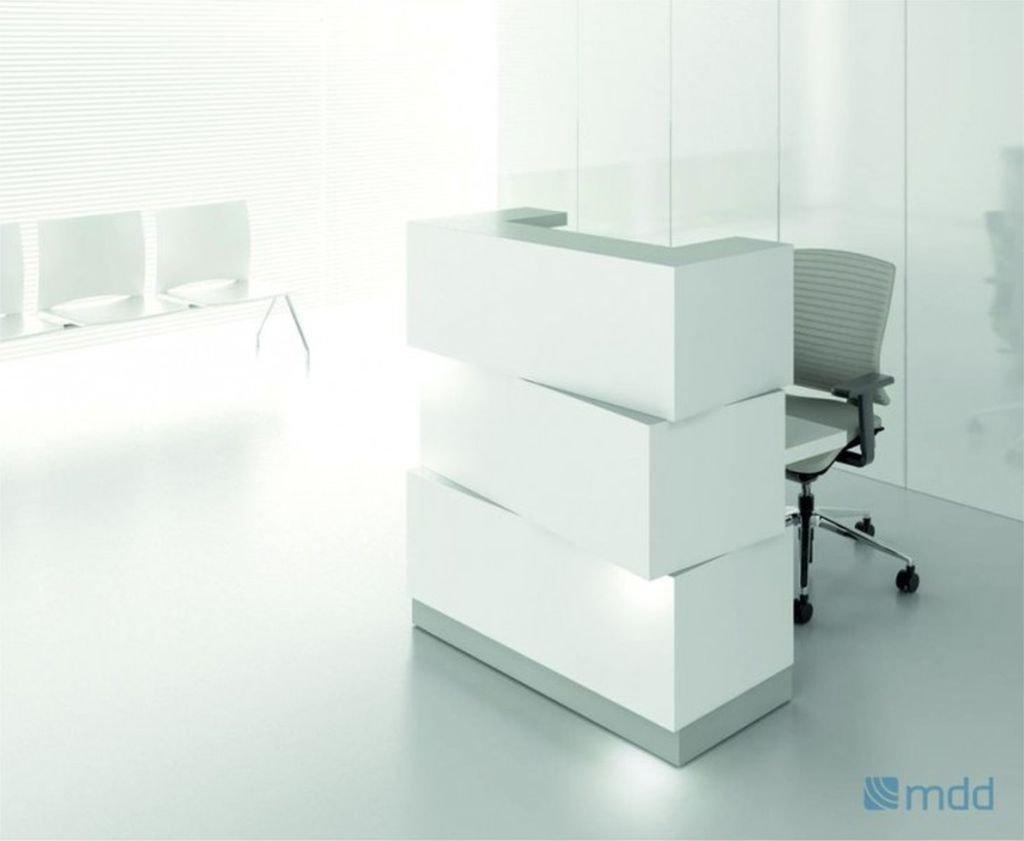 Comptoir de réception zen blanc réception comptoir de réception